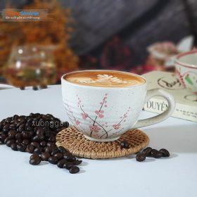 Bộ Tách cafe cappuccino sứ đẹp 200ml CSM-M87