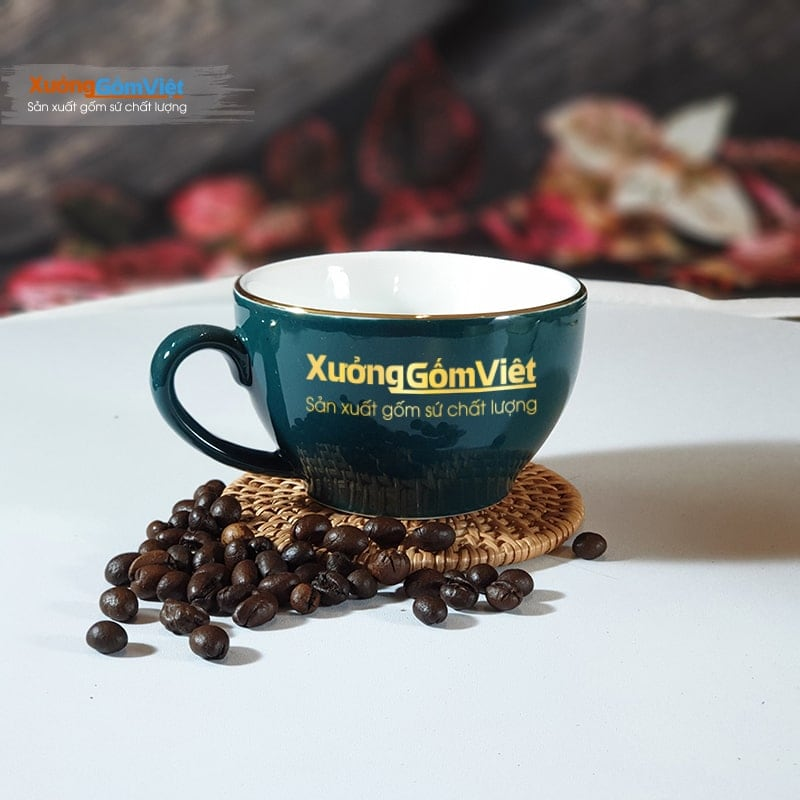 Tách cà phê Capuchino sứ đẹp CVK-M78