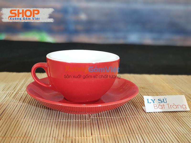 Tách cà phê sứ đựng Capuchino CMS-M37.5