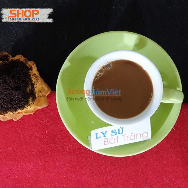 Cốc Espresso sứ Bát Tràng CSM-M33.3