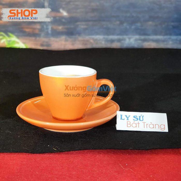 Ly Espresso sứ Bát Tràng CSM-M33.1